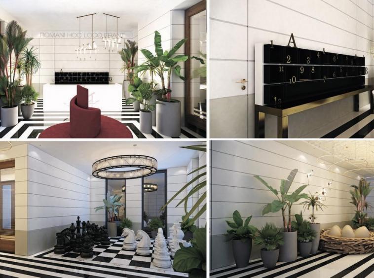 Kalemegdan Park - reception area and lobby